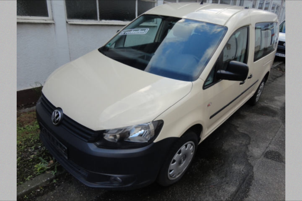 VW Caddy Maxi 1,6 TDI Taxi